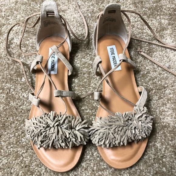 089e1b9d8aca New Steve Madden Swizzle Sandals. M 5b4ebf38477368783b840390